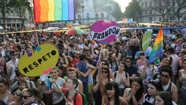 Marcha del orgullo en Buenos Aires