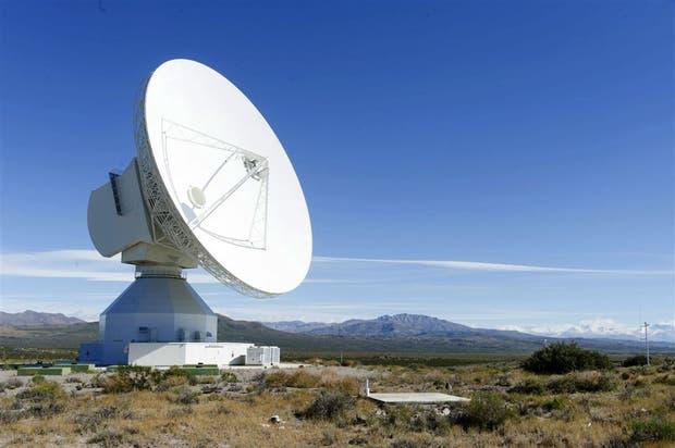 La antena de Mallargue, Mendoza, uno de los enlaces más modernos de la Agencia Espacial Europea con sus misiones espaciales
