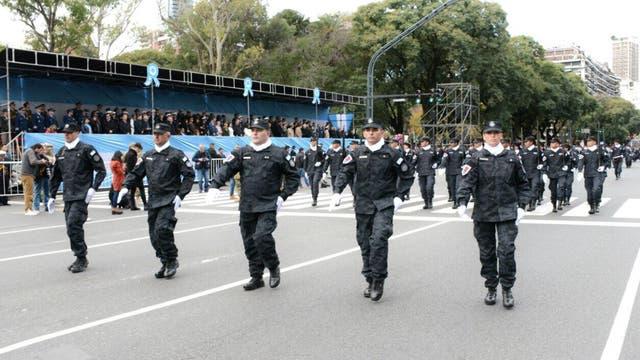 La PSA también participó del desfile