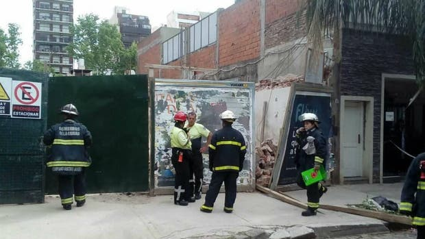 Dos muertos por un derrumbe de una obra en Villa Crespo