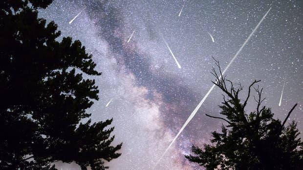 Con el cielo despejado se podrán ver hasta 20 meteoritos por hora
