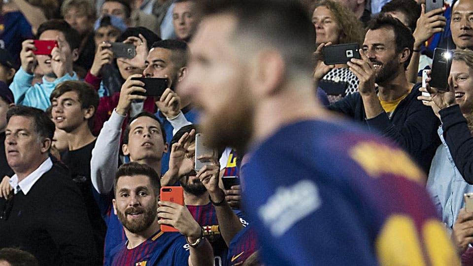 Los dos Messi: el original y el doble iraní