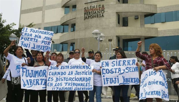 Alberto Fujimori: así se desarrolló marcha contra indulto