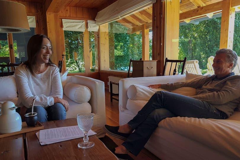 Macri recibió a Vidal en Villa La Angostura; qué dicen sus gestos