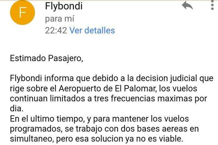 Flybondi se supera día a día: ahora cancela vuelos de forma programada