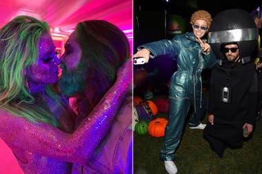Disfraces en parejas muy divertidos y llamativos: Heidi Klum y su esposo, y Justin Timberlake y su mujer