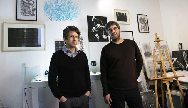 Pablo La Padula y Mariano Sardón