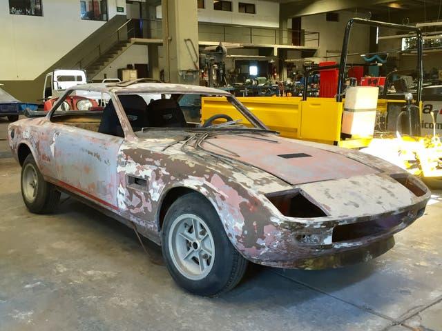 La Tulieta GT antes de su restauración