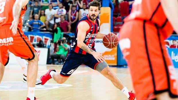 Laprovíttola jugó poco en Baskonia