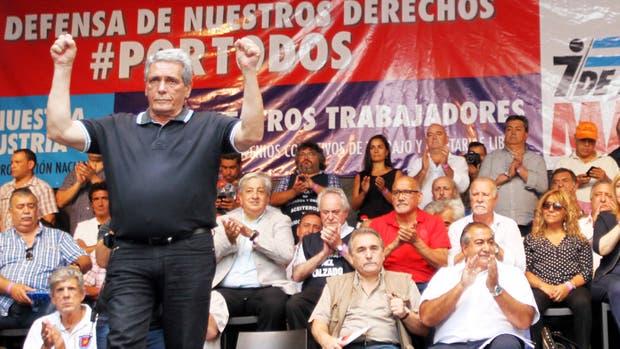 Carlos Acuña, uno de los integrantes del triunvirato de mando de la CGT