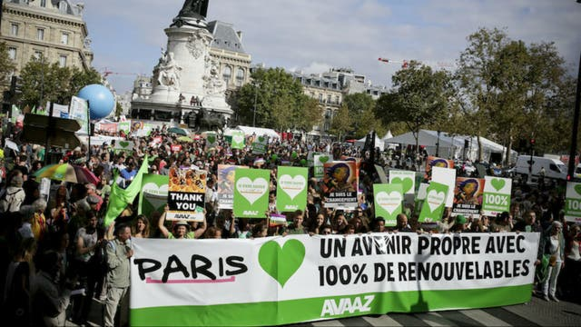 Las marchas están prohibidas en París durante la COP21