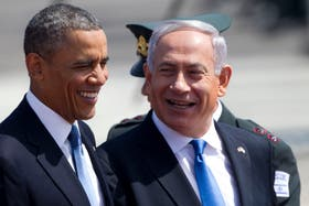 Obama y Peres se mostraron distendidos y dispuestos a hablar sobre la paz en la región