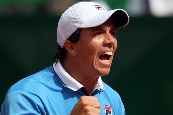 La Argentina derrotó a Francia por 3 a 2 y es semifinalista de la Davis.  Foto:LA NACION /Mauro Alfieri
