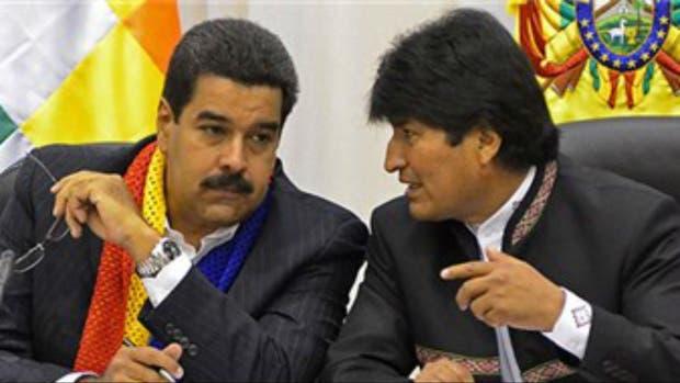 Maduro y Evo salieron a defender a su amigo Lula de las acusaciones por corrupción