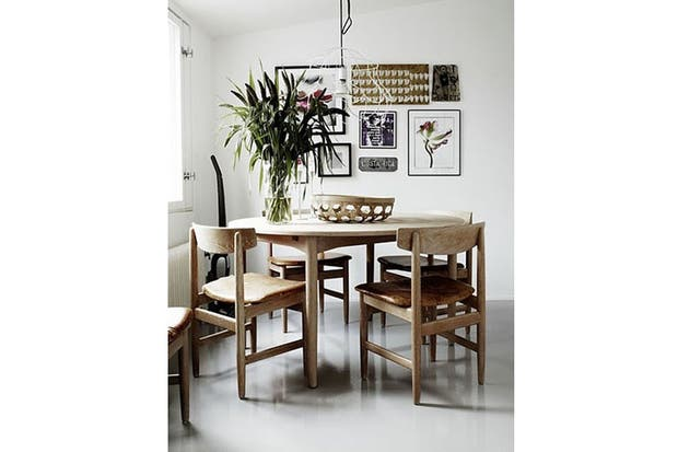 Dale un toque escandinavo a tu comedor   decoración   espacio living