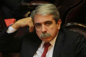 El senador volvió a apuntar contra Lanata