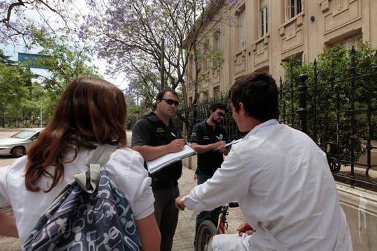 El operativo fue fiscalizado por el jefe de la Policía Bonaerense, Juan Carlos Paggi. Foto: LA NACION / Jorge Bosch