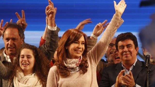 Hasta ahora, en la Tercera sección la diferencia es casi de 400 mil votos a favor de Cristina Kirchner, que obtiene el 41.20 % contra el 28,34 % de Bullrich