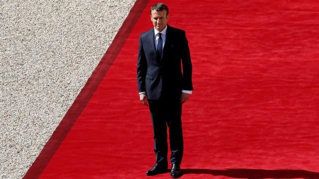 Macron asumió en Francia: prometió combatir el terrorismo y el autoritarismo