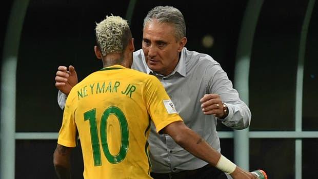 Tite confía en Neymar para liderar a su plantel