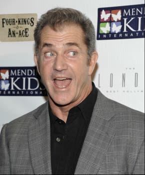 El actor Mel Gibson participó de un evento solidario en Hollywood. Foto: AP