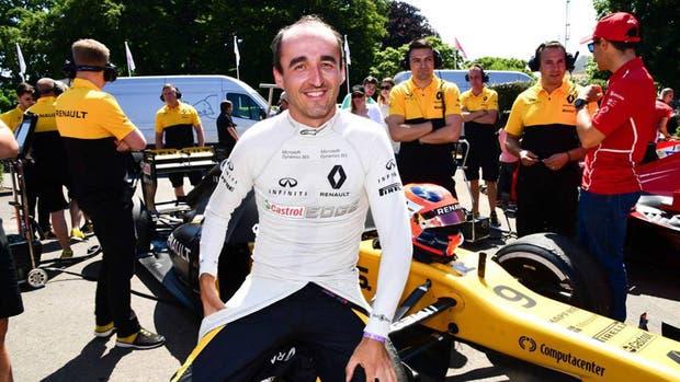 Kubica sigue luchando para volver a la F1
