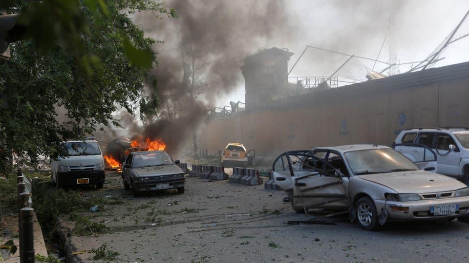 El estallidos fue en una zona de Kabul por donde transita muchas gente, ya sea caminando o en auto. Foto: Reuters