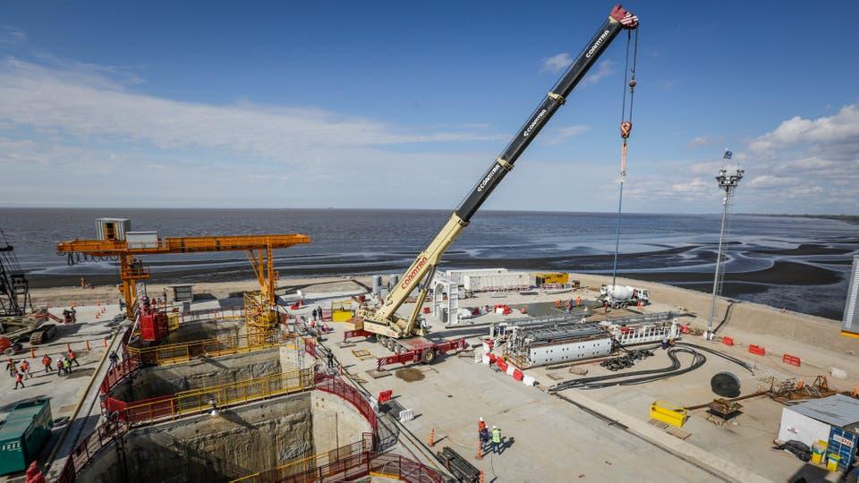 El predio de Dock Sud de la obra tiene 20 hectáreas. Foto: LA NACION / Hernán Zenteno