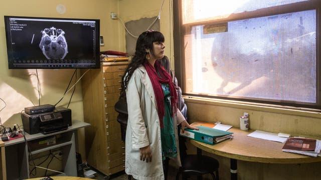 Piñeyro hace guardias en terapia intensiva los sábados, cuando aumentan los accidentes fatales