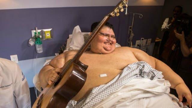 Juan Pedro Franco Salas ya perdió 218 kilos. Está siendo tratado en la clínica Gastric Bypass México en Guadalajara