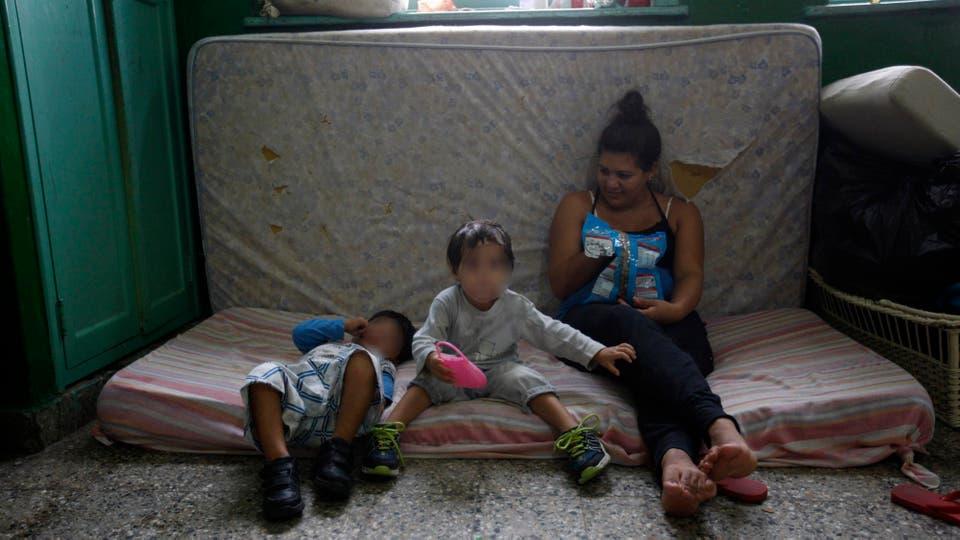 Muchos de los evacuados fueron enviados  a escuelas y clubes. Foto: LA NACION / Mauro V. Rizzi /Enviado especial