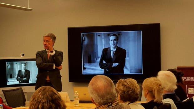 Vigliero brindó una charla en Harvard sobre caso Nisman