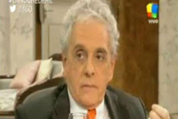Antonio Gasalla en la mesa de Mirtha