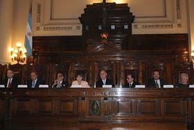 La Corte dictó una resolución complementaria al dictamen de ayer