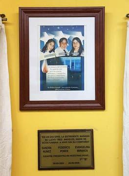 Evangelina, Fede y Sandra, las tres víctimas de la masacre. Foto: LA NACION / Matías Aimar