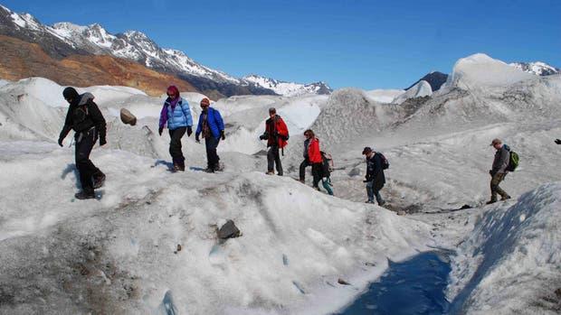 Una caminata en el Parque Nacional Los Glaciares