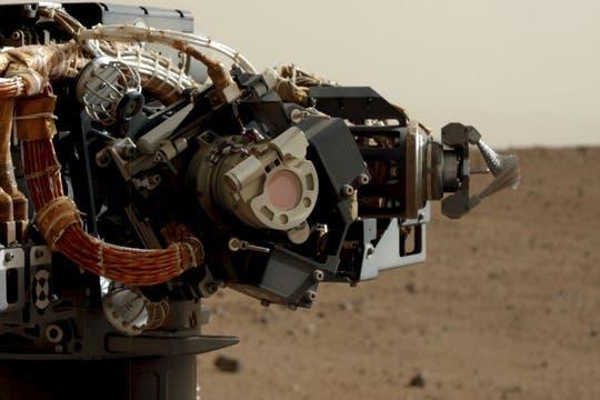 La cabeza del brazo robótico de Curiosity mide más de 50 centímetros de diámetro. Foto: NASA