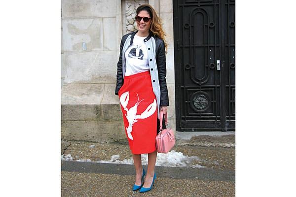 Rejugadísima: mega estampas y mix and match de estilos. Foto: Agustina Garay Schang (desde París)