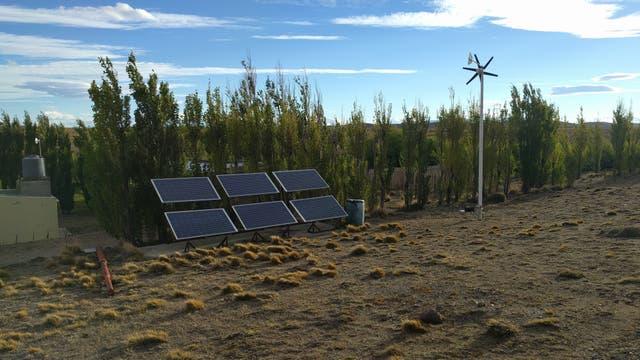 El sol y el viento, fuentes de energía para estudiar al macá tobiano