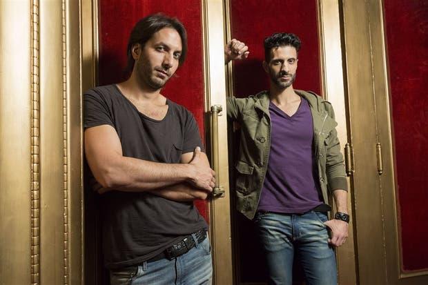 El director Sebastián Prada y el actor Mariano Zito