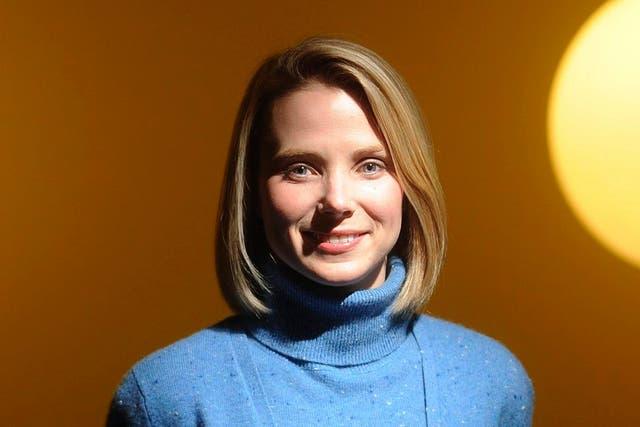 Marissa Mayer, la CEO de Yahoo!
