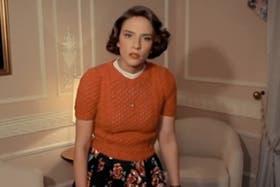 La actriz que protagonizó el corto, Andrea Carballo