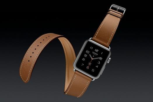 La firma Hermès ofrecerá correas de cuero para el Apple Watch.