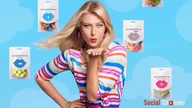 María Sharapova, la reina del marketing