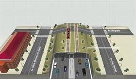 Detalle del proyecto de la Autopista Ribereña en 2005