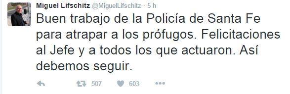 El tuit de Lifschitz