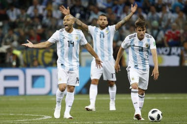 Mascherano is gone, Otamendi for now, and Tagliafico remains about