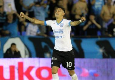 Matías Suárez lleva dos goles en 13 partidos con Belgrano en la presente Superliga
