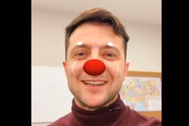 En un video de campaña, Zelenski se reconoce orgulloso de ser payaso