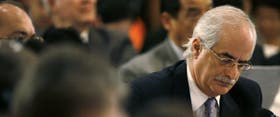 El canciller Jorge Taiana, en la asamblea de la OEA